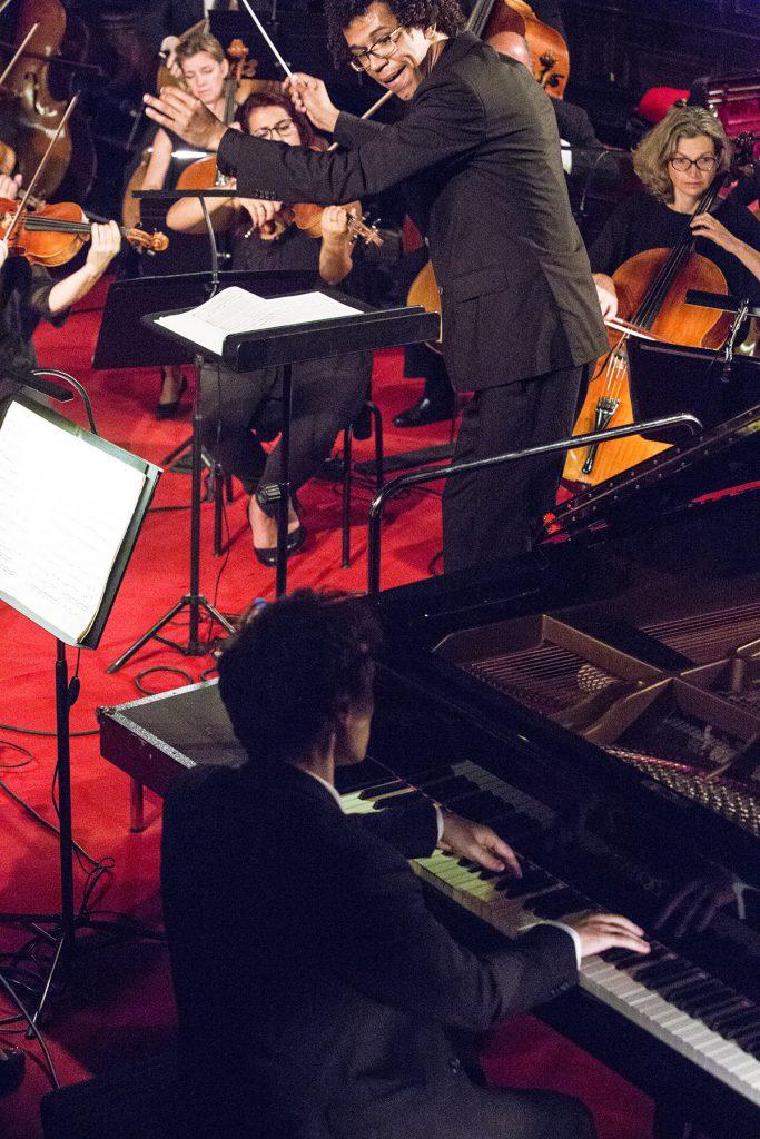 Jonathan FOURNEL, piano avec l'orchestre National de Lorraine dirigé par Jonathon HEYWARD.