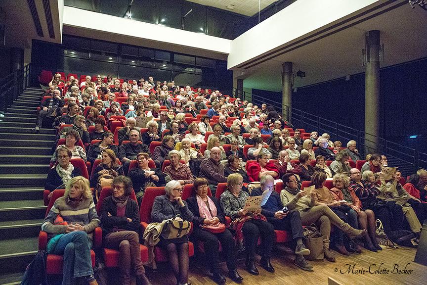 Public au concert de Galliano Sextet à Sarralbe