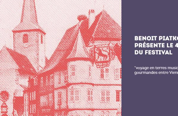 Benoit Piatkowski présente le 41eme édition du festival